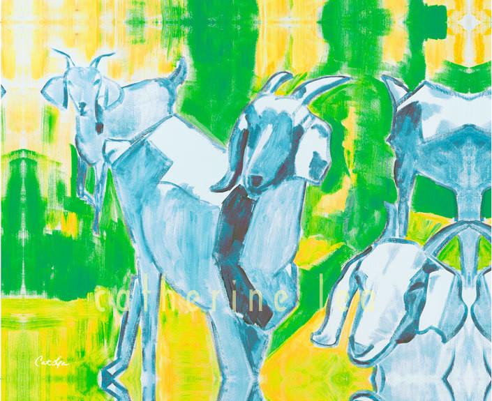 Trio of Goats 3