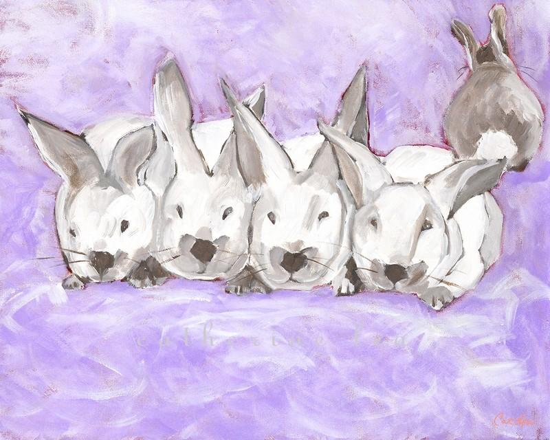 Bunny Cloud (purple)