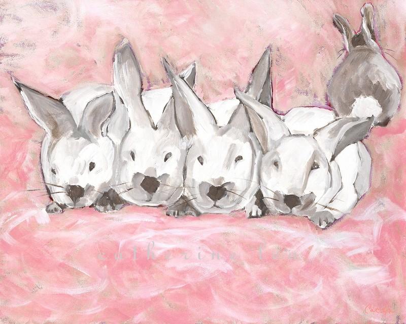 Bunny Cloud (pink)