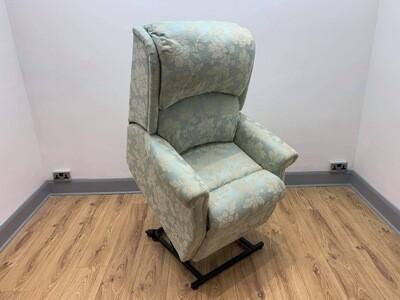 HSL Berwick Duck Egg Dual Motor Riser Recliner Chair (Petite)