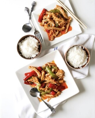Spicy Beef Tripe 辣炒肚丝