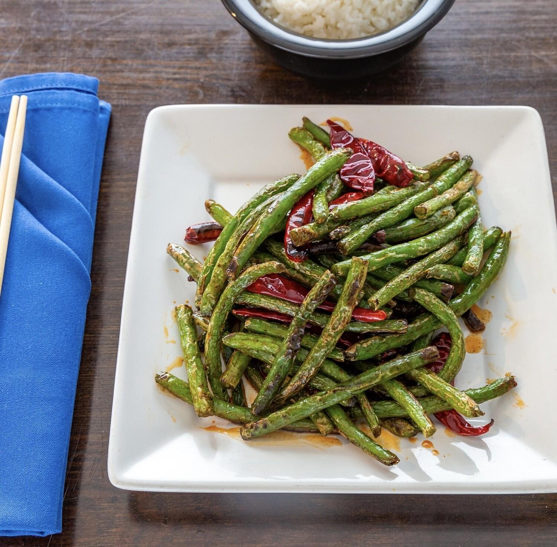 Stir-fried Beans 干煸豆角