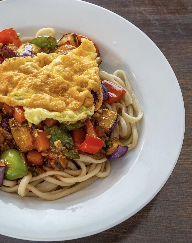 Eggplant Laghman 茄子拌面