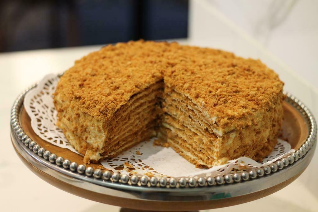 Not your Typical Honey Cake 新疆蜂蜜蛋糕