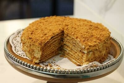 Not your Typical Honey Cake 新疆蜂蜜蛋糕