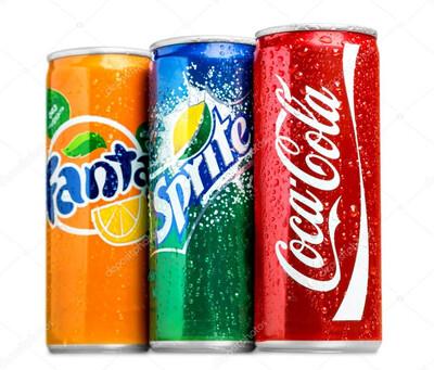 Coke/Sprite/Fanta