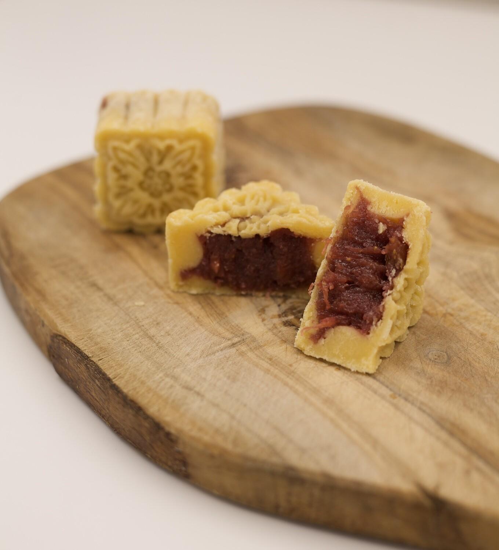 莓果花园月饼 - Berry Garden Mooncake【Limited Time Available】