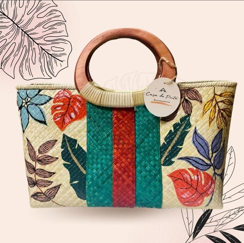 Guccic Hand-painted Bag