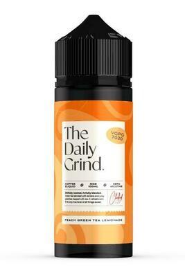 The Daily Grind | Peach Green Tea Lemonade 100ml