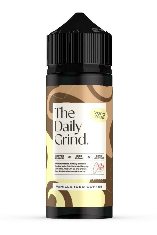 The Daily Grind   Vanilla Iced Coffee 100ml