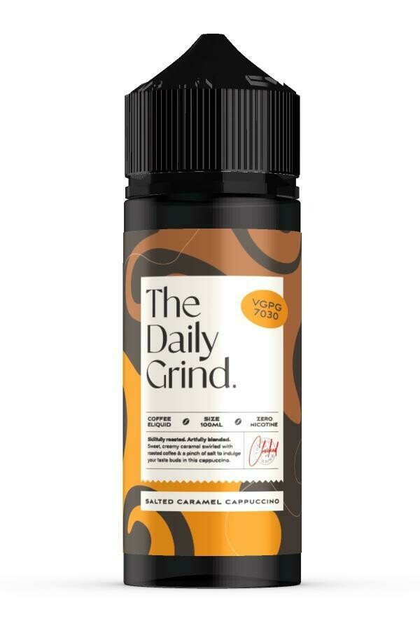 The Daily Grind | Salted Caramel Cappuccino 100ml