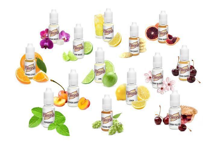 Flavorah FLV 10ml - Cherry & Citrus Assorment Flavours
