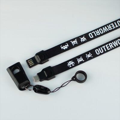 Outerworld USB Type-C Charging Lanyard