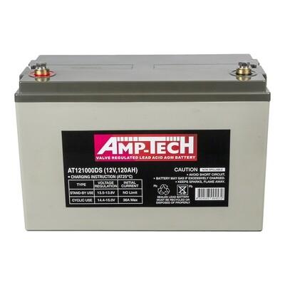 AMPTECH AGM DEEP CYCLE BATTERY 120AH