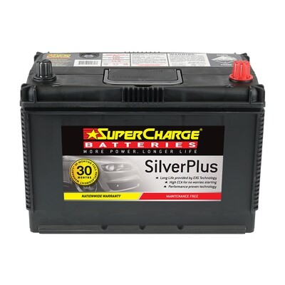 SUPERCHARGE SILVER MAINTENANCE FREE BATTERY 720CCA