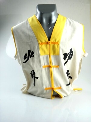 Chaleco Monje Shaolin Tradicional