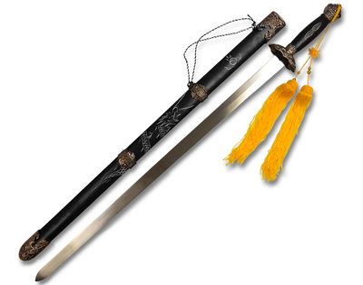 Espada de Tai Chi Jian  Esfera de Sabiduría Negra