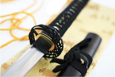 Katana Samurai Empuñadura de  Grulla
