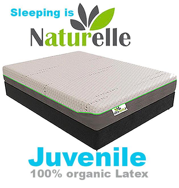 Juvenile - 100%  Organic Latex Mattress  ON SALE NOW  Save 61%