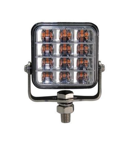 LED-VAROITUSVALO 12x2W 10-30V TASO / JALKAKIINNITYS