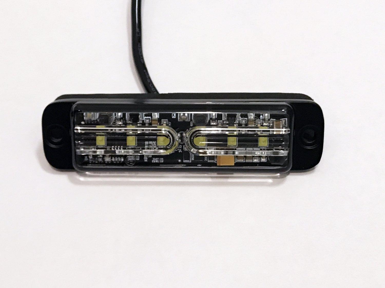 VSWD LED-työvalo valkoinen 6x3W 12/24V pinta-as.