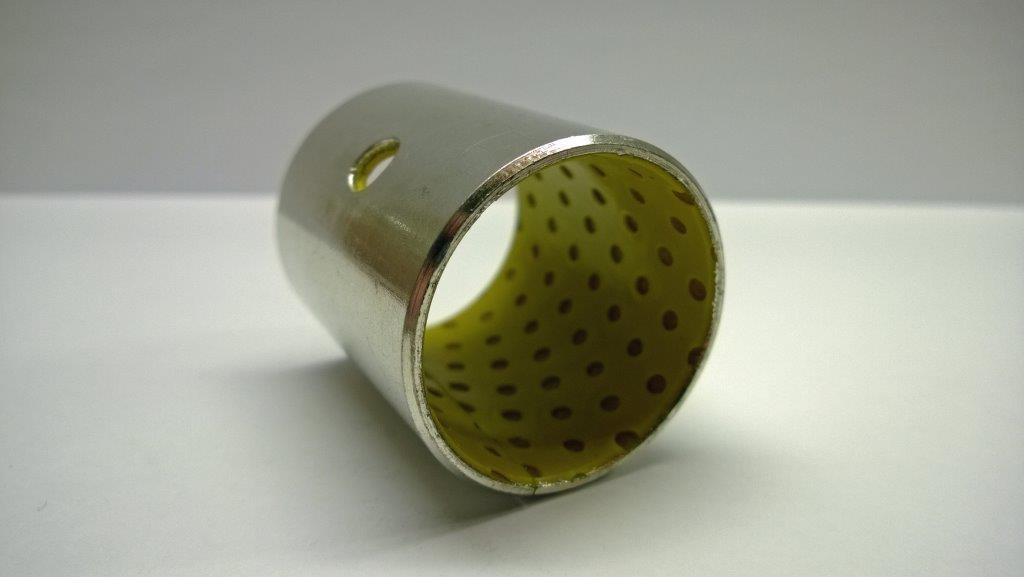Sylinterin laakeriholkki (POM)-polymeeri 30/34x40