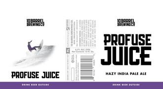 10 Barrel Brewing Profuse Juice Hazy IPA 6pk