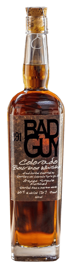 291 Bad Guy Bourbon Colorado Whiskey