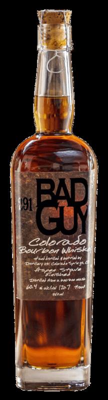 291 Bad Guy Bourbon Colorado Whiskey