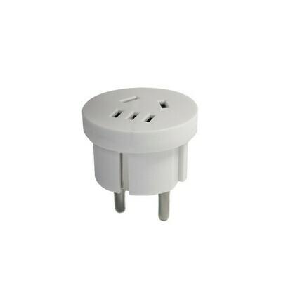 Универсальный адаптер - переходник 4,8 мм Wonplug 10A 2500W