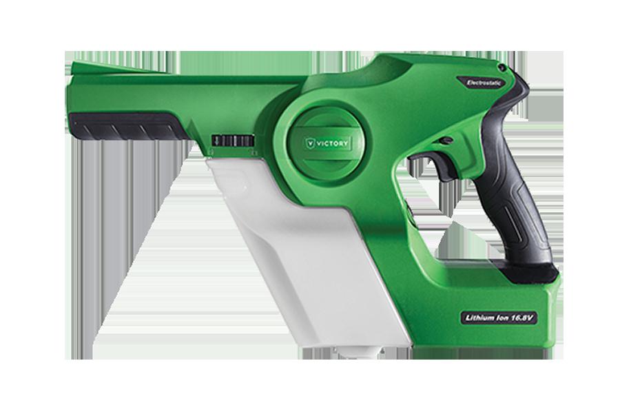 Pistola Electrostática Profesional Inalámbrica de Mano de Victory Innovations