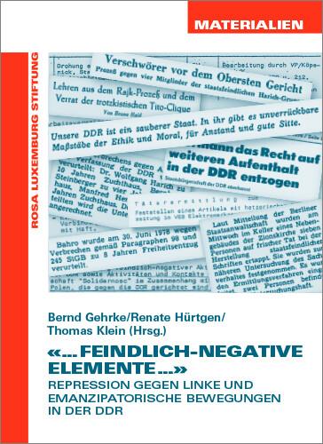 "...feindlich-negative Elemente..."" (Materialien Nr. 29)"""