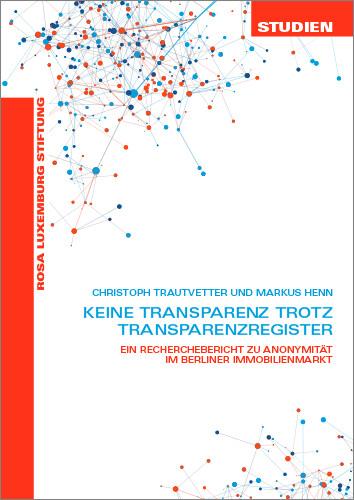Keine Transparenz trotz Transparenzregister (Studien 05/2020)