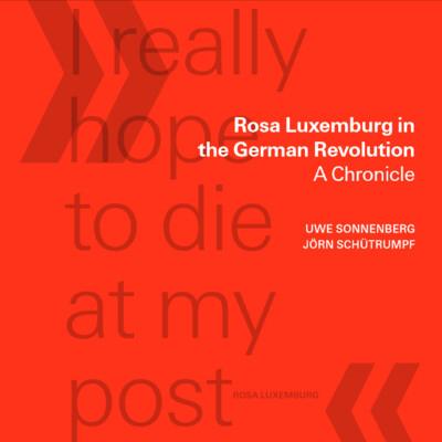 Rosa Luxemburg in der deutschen Revolution - Eine Chronik (engl.)