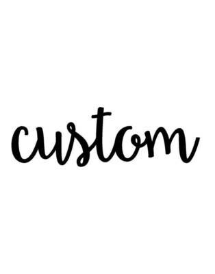 Kustom Order Request