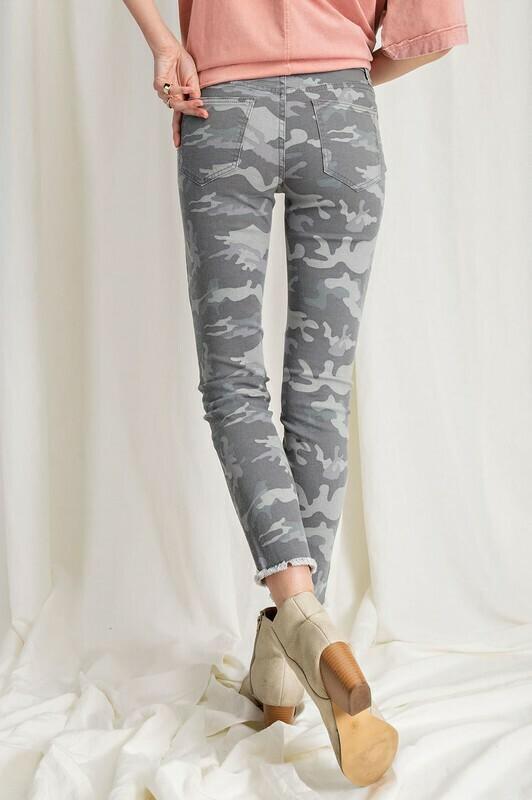 Lt grey Camo bottoms