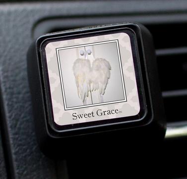 Auto vent clip sweet grace