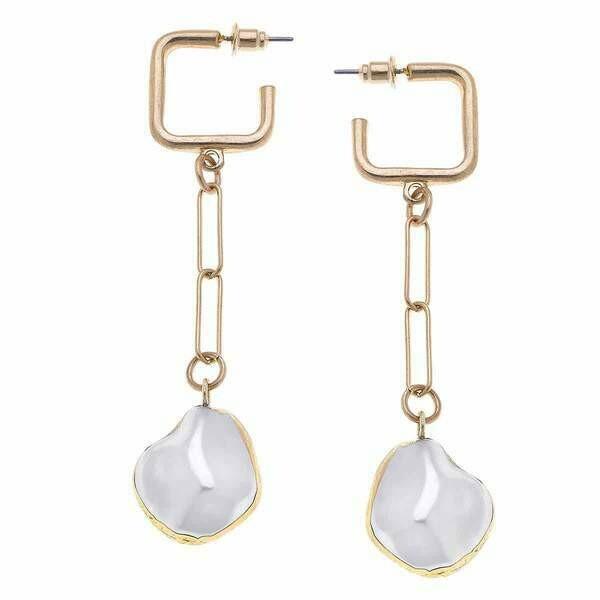 Camille Drop Earrings- CANVAS