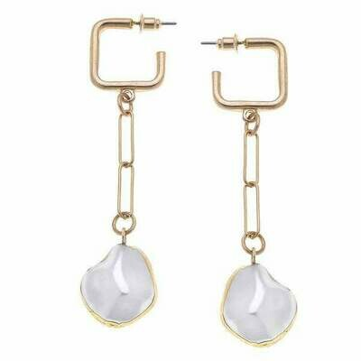 Camille Drop Earrings- CANVAS