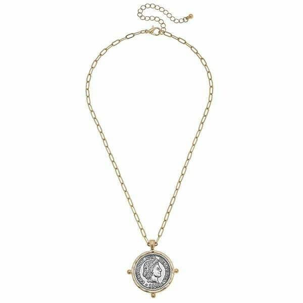 Coin Necklace -CANVAS