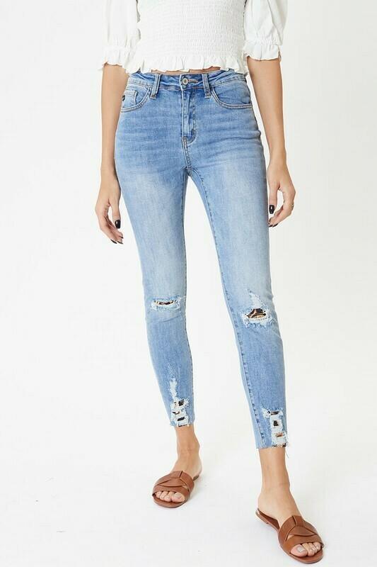 KanCan Leopard Jeans