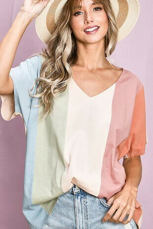 color block top