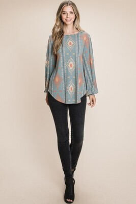 AZTEC LOOSE FIT TUNIC