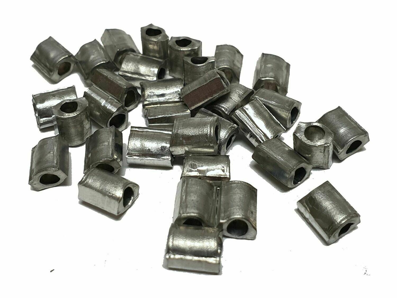 Scellés en aluminium 5x6 mm