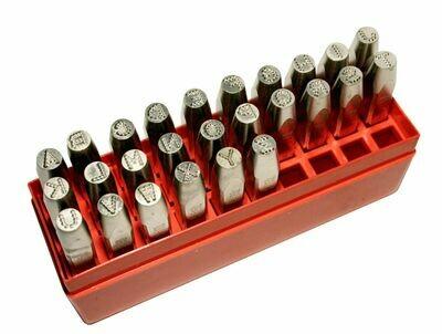 Rucne razidla PRYOR Dotstress pismen A-Z - 3.0 mm