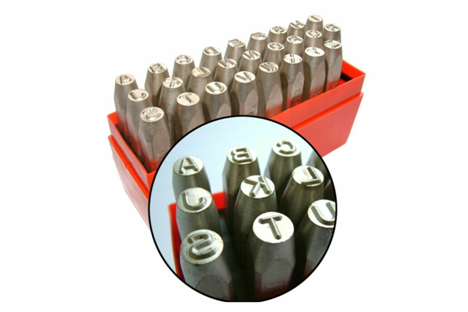 Lettres a frapper A-Z Lowstresss 6.0 mm