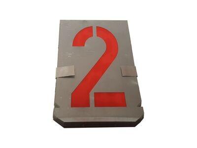 Number Metal Stencil Set 0-9