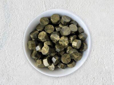 Pearl Sealing Wax - Green-Gold