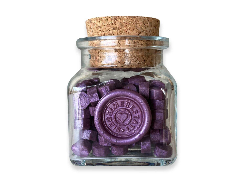 Sealing Wax Beads in Glass Bottle - Cyklam