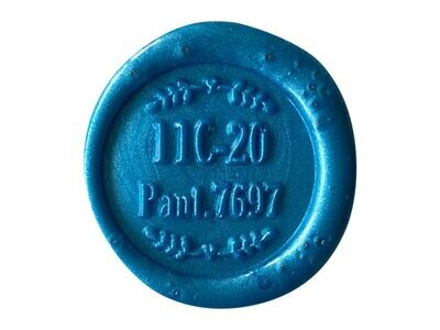 Sealing Wax Classic with Wick - Blue and Green